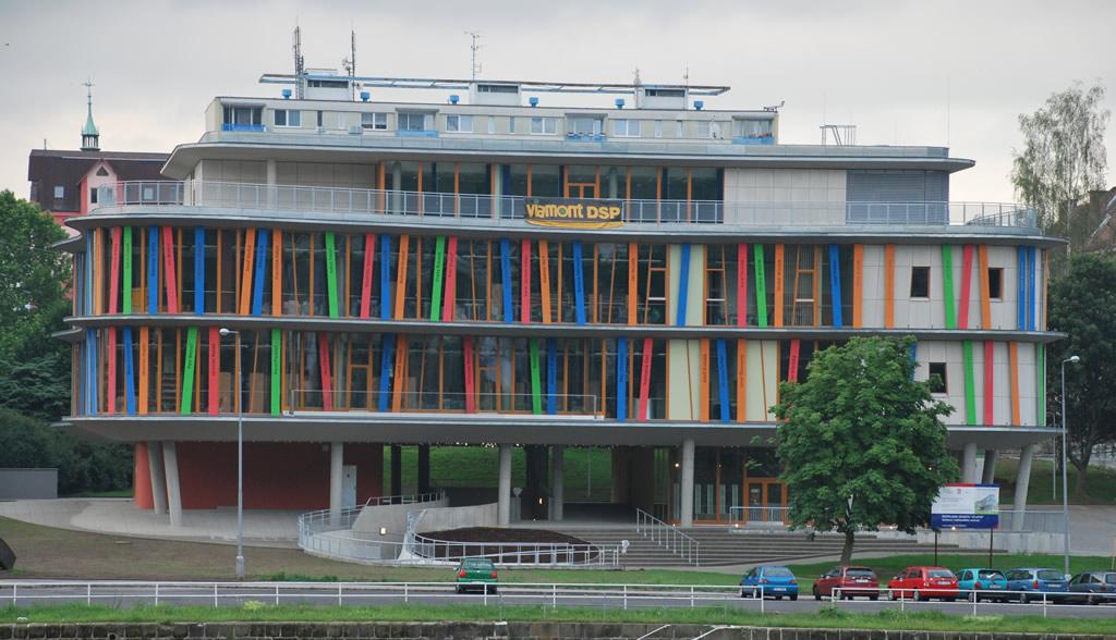 Revitalizace objektu Atlantik (knihovna / mutimediální centrum)
