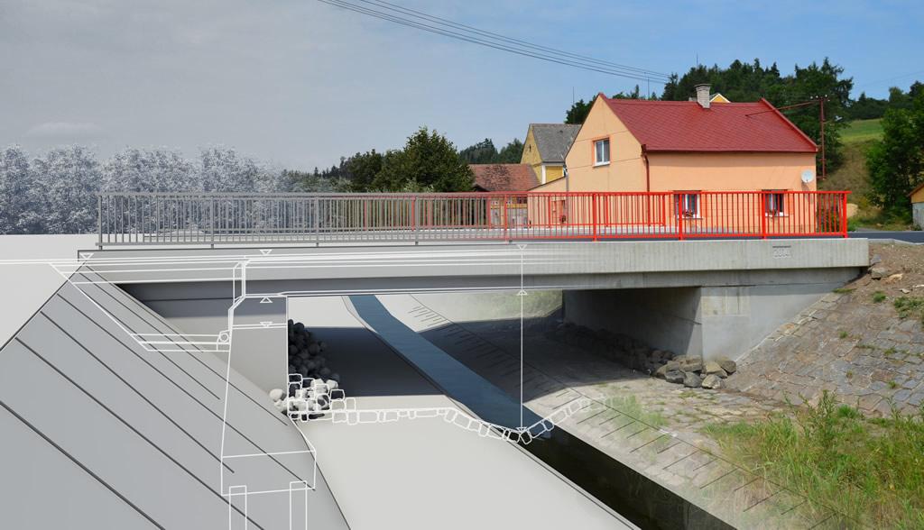 Modernizace mostu ev.č. 193-004 Borek