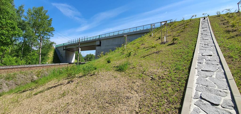 Modernizace mostu ev.č. 209-011B u Nového Sedla přes železniční trať