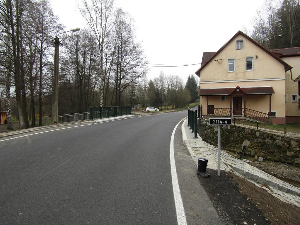 Modernizace mostu ev. č. 2114 - 4 Valy