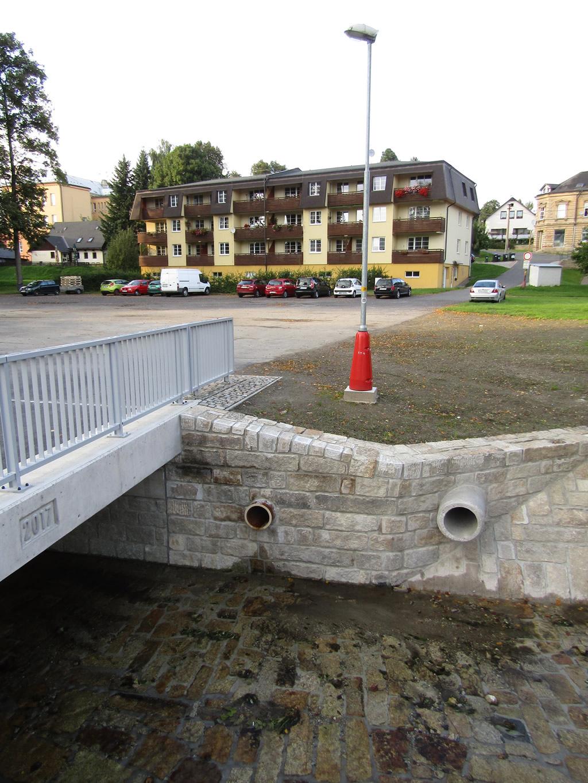 Oprava mostu u č.p. 616