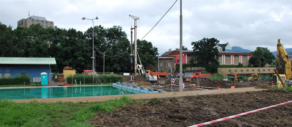 Plavecký areál Děčín - rozšíření kapacity (polyfunkční bazén a rozšíření kapacity)