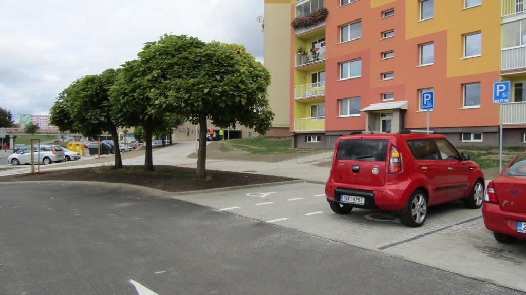 Regenerace sídliště Špičák – parkoviště v ul. Bardějovská, Česká Lípa