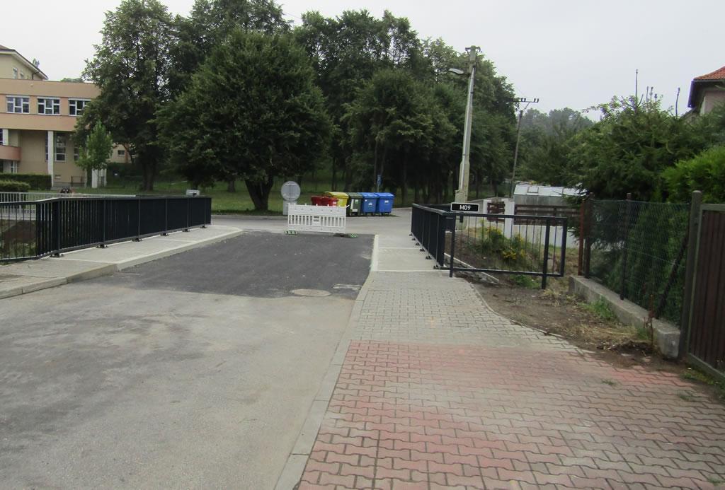Rekonstrukce mostu M09 u ZŠ Purkyňova, Frýdlant