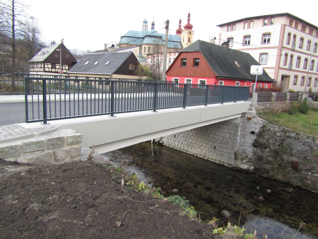 Rekonstrukce mostu u č.p. 5